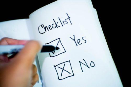 Private Money loan checklist